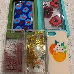 LOT of IPhone 7 Cases Including Designer Cases